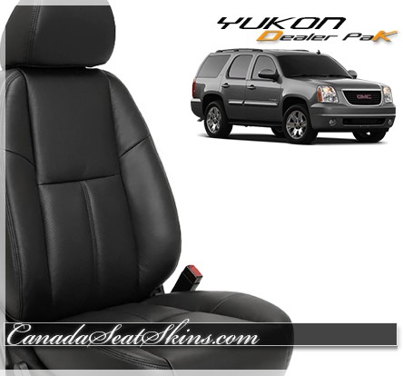 2007 - 2014 GMC Yukon Dealer Pak Leather Seats