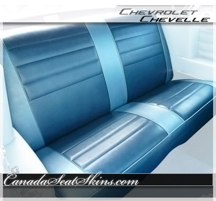 1965 Chevelle Upholstery And Seat Foam Kit