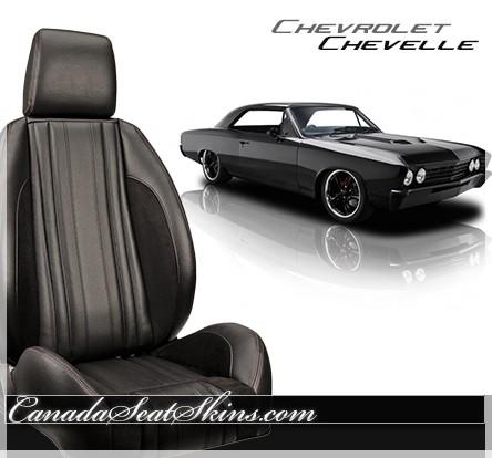 Chevrolet Chevelle Pro Series Low Back Bucket Seats