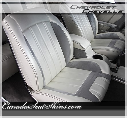 1966 Chevelle Sport R Upholstery And Seat Foam Kit
