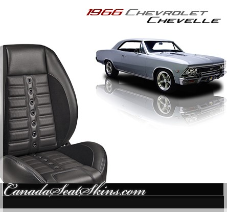 1966 Chevelle Sport XR Restomod Seats