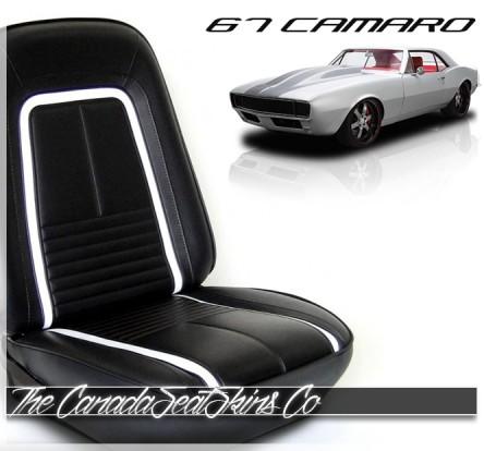 1967 Chevrolet Camaro TMI Deluxe Seat Upholstery Sale