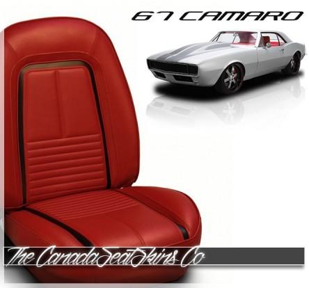 1967 Camaro Deluxe Sport Bolstered Upholstery and Foam Kit