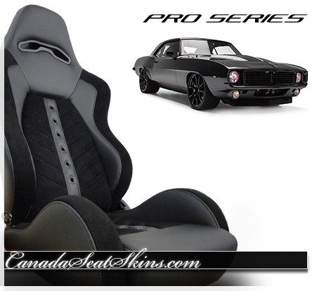 1967 - 1969 Camaro Villain VXR Pro Series Bucket Seat Kit