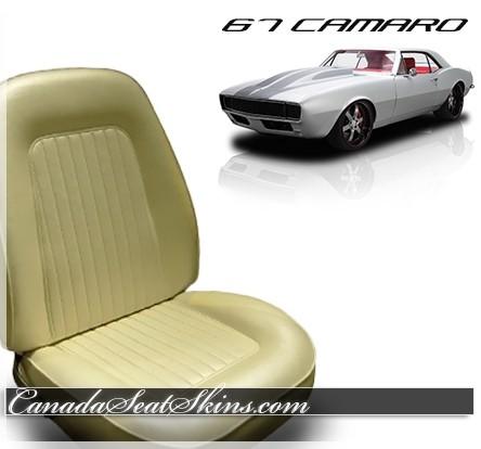 1967 Camaro Standard Upholstery with Sport Foam