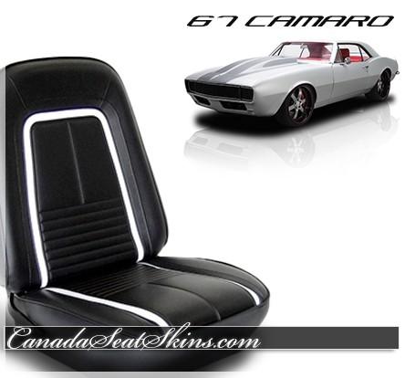 1967 Chevrolet Camaro TMI Deluxe Seat Upholstery