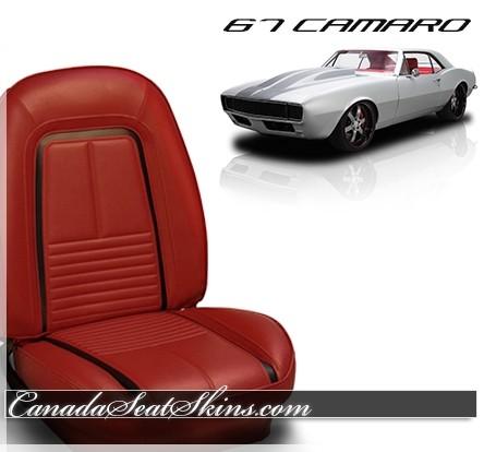 1967 Camaro Deluxe Upholstery TMI Sport Bolstered