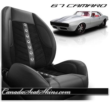 1967 Camaro Sport VXR Restomod Seat in Black