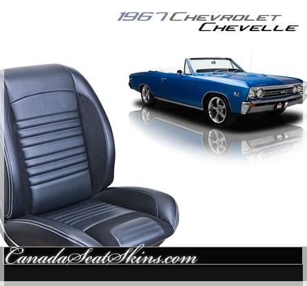 1967 Chevelle Sport R Restomod Seats