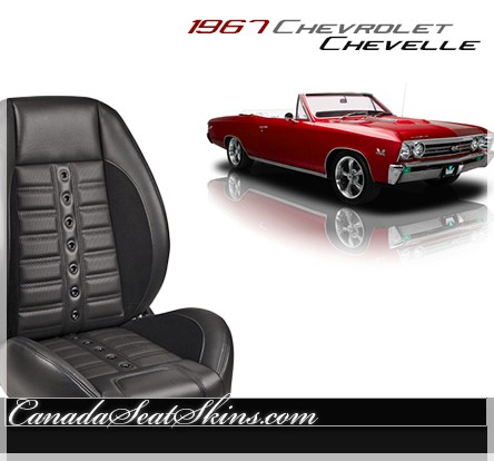 1967 Chevelle Sport XR Restomod Seats