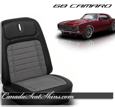 1968 Camaro Deluxe Houndstooth Upholstery