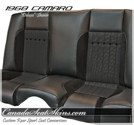 1968 Camaro Sport R Bucket Seat Conversion