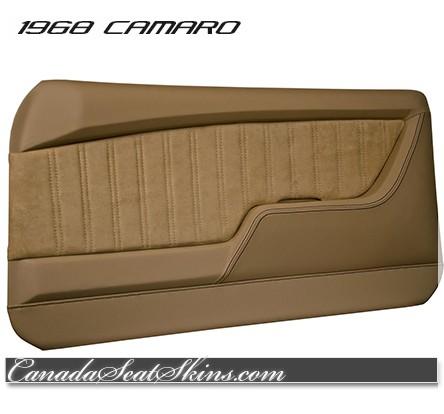 1968 Camaro Restomod Saddle Door Panel Kit