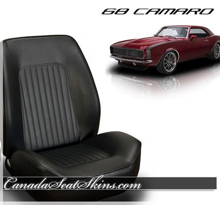 1968 Camaro Standard Sport Bolstered Bucket Seat Conversion Kit