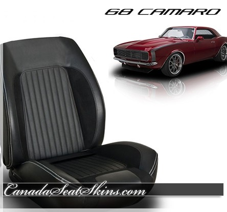 1968 Camaro Sport R High Bolstered Bucket Seats