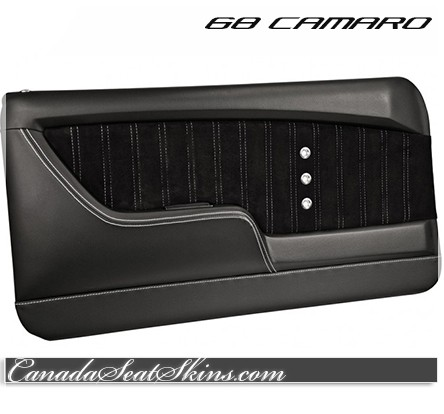 1968 Camaro TMI Sport XR Molded Restomod Door Panels