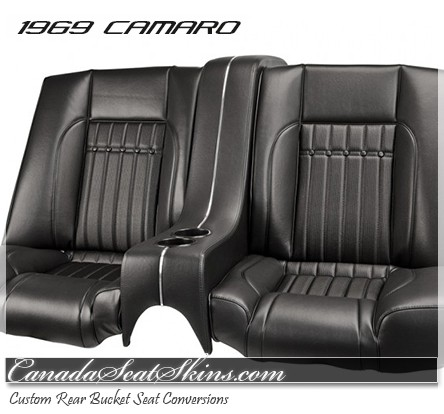 1969 Camaro Sport Deluxe Bucket Seat Conversion