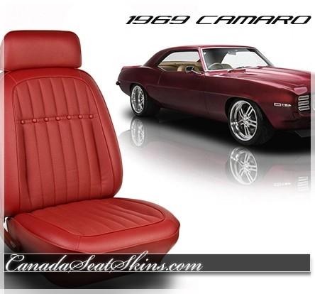 1969 Camaro Deluxe Vinyl Replacement Upholstery
