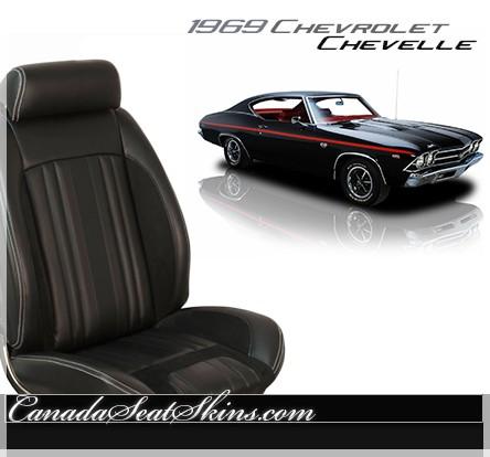 1969 Chevelle Sport R Restomod Seats
