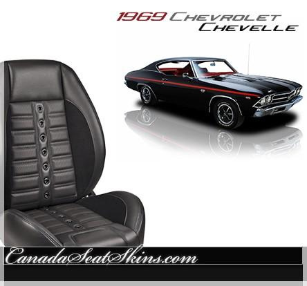 1969 Chevelle Sport XR Restomod Seats