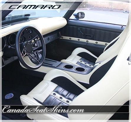Seat Skins For Trucks >> 1971 - 1981 Camaro Sport XR Bucket Seat Conversion