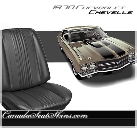 1970 Chevrolet Chevelle Standard Upholstery