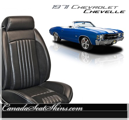 1971 Chevelle Sport R Restomod Seats