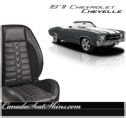 1971 Chevelle Sport XR Restomod Seats