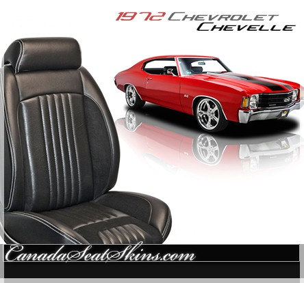 1972 Chevelle Sport R Restomod Seats