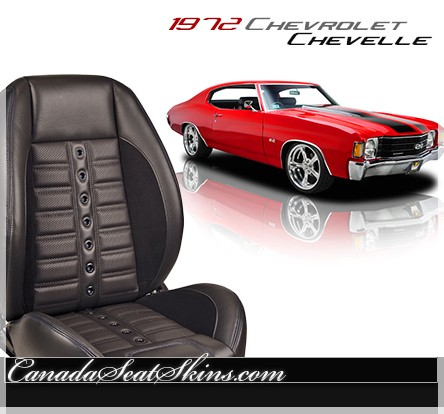 1972 Chevelle Sport XR Restomod Seats