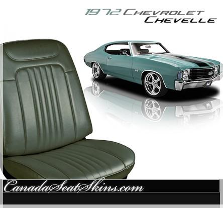 1972 Chevrolet Chevelle Standard Upholstery
