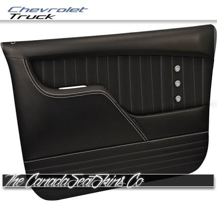 1973 - 1980 Chevrolet Truck TMI Sport XR Black Molded Door Panel Sale