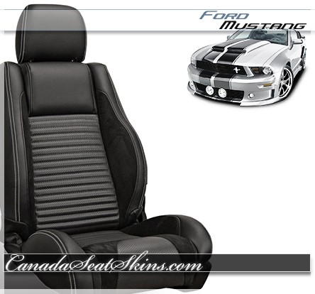 2005 - 2007 Ford Mustang Sport R Seat Kit Black