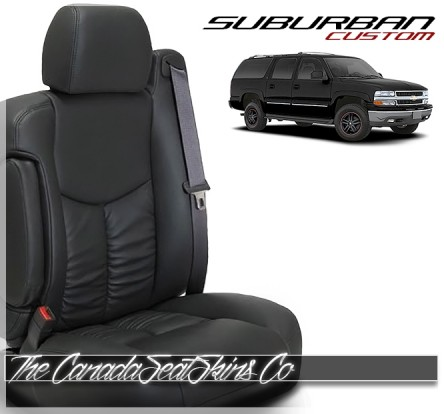 2000 - 2006 Chevrolet Suburban Katzkin Custom Leather Seat Sale