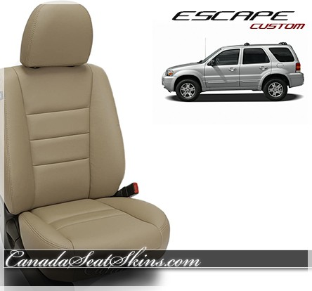 2001 - 2008 Ford Escape Katzkin Leather Interiors