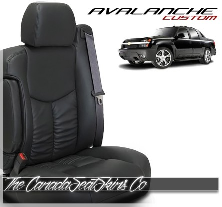 2002 - 2006 Chevrolet Avalanche Katzkin Custom Leather Seat Sale