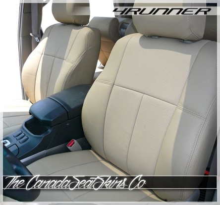 2010 - 2020 Toyota 4Runner Perfect Fit Clazzio Seat Covers