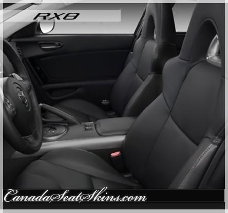 2003 - 2008 Mazda RX8 Katzkin Leather Seats
