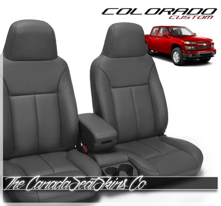 2004 - 2012 Chevrolet Colorado Custom Katzkin Leather Seat Sale