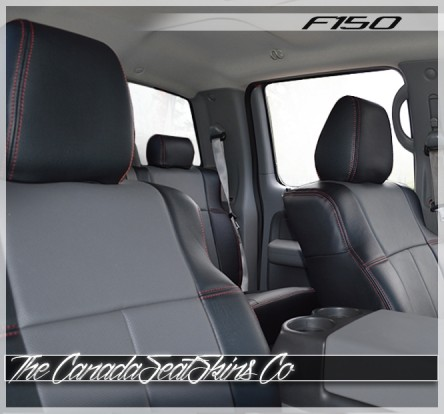 2004 - 2008 Ford F150 Fitted Slip Over Seat Covers For Fleet Vehicles