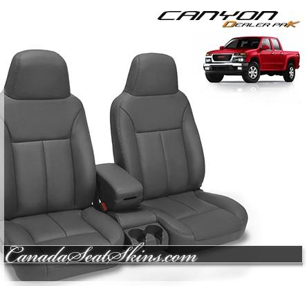 2004 - 2010 GMC Canyon Dealer Pak Leather Seat Kit