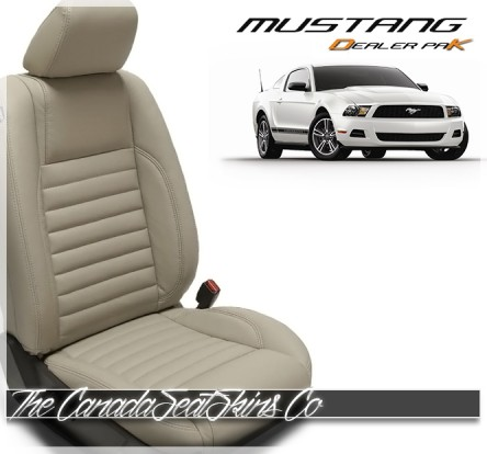 2005 - 2014 Ford Mustang Leather Seat Replacement Upholstery Sale