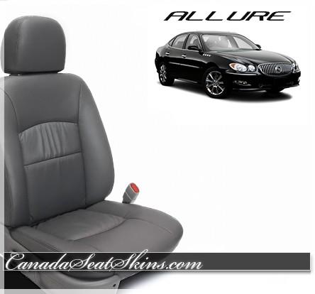 2005 - 2009 Buick Allure Katzkin Charcoal Custom Leather Seats