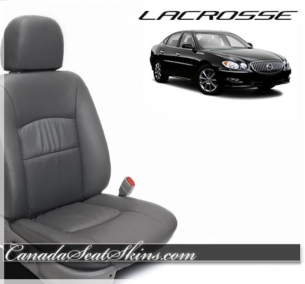 2005 - 2009 Buick Lacrosse Katzkin Charcoal Custom Leather Seats