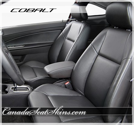 Chevrolet Cobalt Black Katzkin Leather Seats