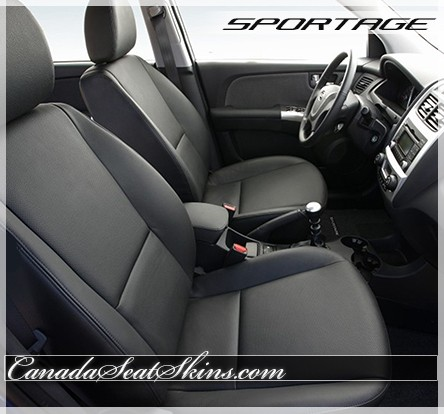 2005 - 2010 Kia Sportage Katzkin Leather Seats