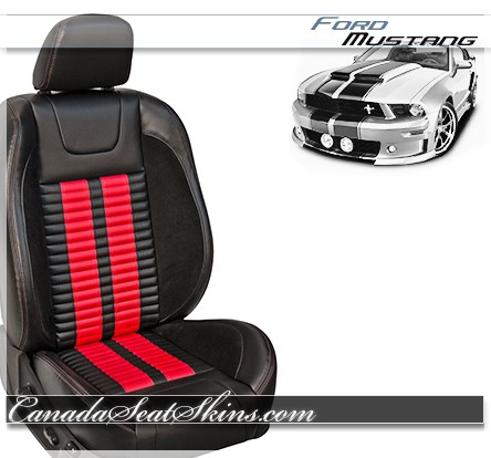 2005 - 2014 TMI Mustang Shelby R500 Seat Red