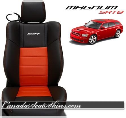 2005 - 2008 Dodge Magnum SRT8 Katzkin Red Leather Seats