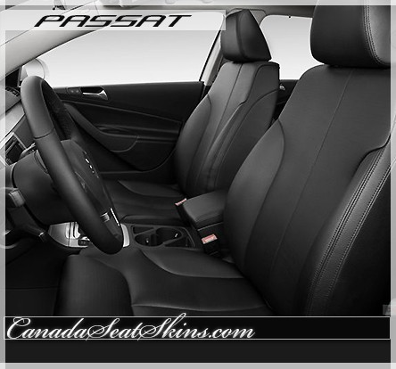 2006 - 2009 Volkswagen Passat Black Katzkin Leather Seats
