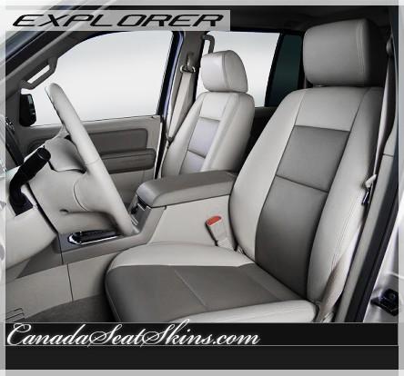 2006 - 2010 Ford Explorer Katzkin Leather Seats